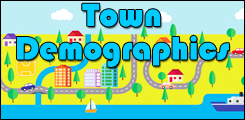 click for town demographics and information